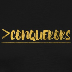 More Than Conquerors - Men's Premium T-Shirt