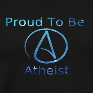Proud_to_be_Atheist - Men's Premium T-Shirt
