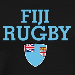fiji flag design - Men's Premium T-Shirt