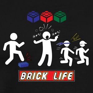 Brick Life - Men's Premium T-Shirt