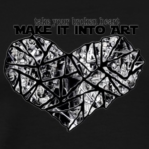 MAKE IT INTO ART - Men's Premium T-Shirt