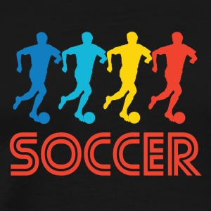 Soccer Pop Art - Men's Premium T-Shirt