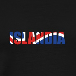 country Islandia - Men's Premium T-Shirt