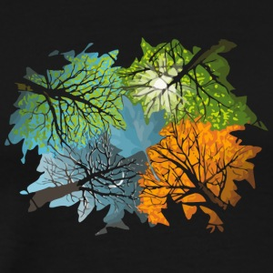 Four Seasons In One Day - Men's Premium T-Shirt