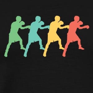 Retro Boxing Pop Art - Men's Premium T-Shirt