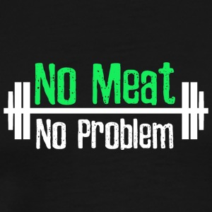 No Meat No Problem - Men's Premium T-Shirt