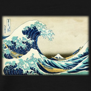 Great Wave off Kanagawa - Men's Premium T-Shirt