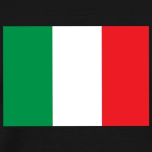 italian flag - Men's Premium T-Shirt