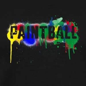color paintball - Men's Premium T-Shirt