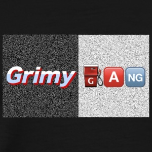 Grimy Gang Box Logo - Men's Premium T-Shirt