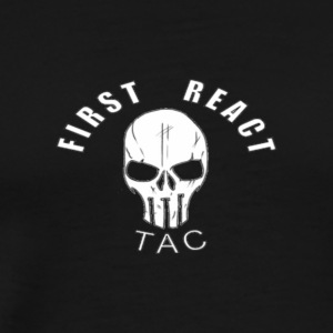 First React Tac Logo - Men's Premium T-Shirt