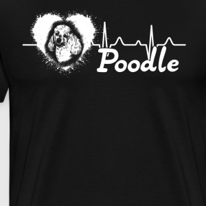 Love Poodle Shirt - Men's Premium T-Shirt