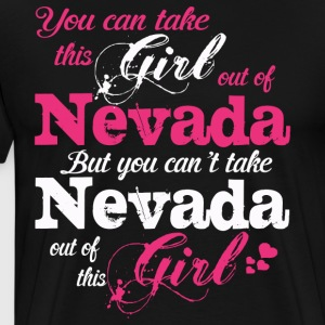 This Girl Love Nevada - Men's Premium T-Shirt