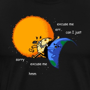 Total Solar Eclipse Excuse Me - Men's Premium T-Shirt