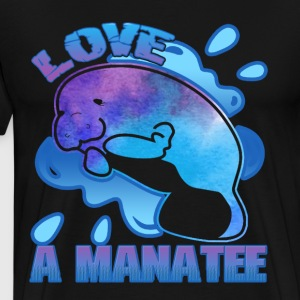 MANATEES OF MANY COLORS SHIRT - Men's Premium T-Shirt