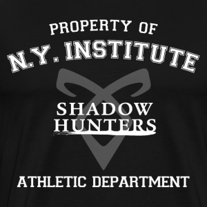 Shadowhunters - Property Of The New York Institute - Men's Premium T-Shirt
