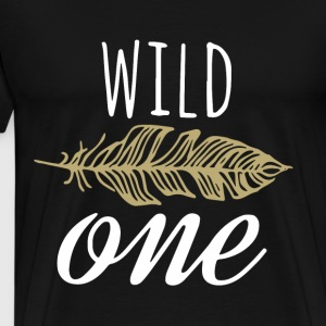 Girls Birthday outfit wild one shirt girls Birthda - Men's Premium T-Shirt