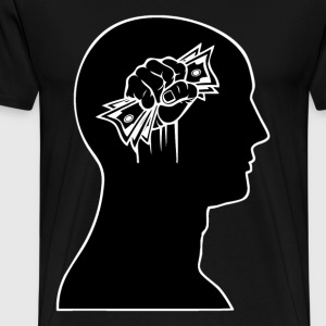 Cash on the Brain - Men's Premium T-Shirt
