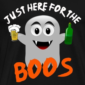 Just Here for the Boos - Men's Premium T-Shirt