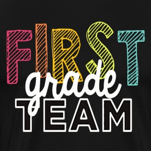 First Grade Team Shirt Back To School 2017 - Men's Premium T-Shirt