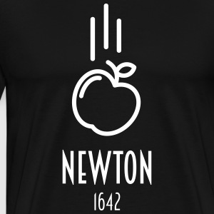 Sir Isaac Newton 1642 (gift) - Men's Premium T-Shirt