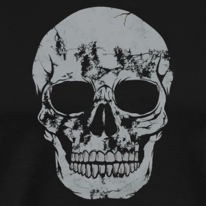 Skull cool retro gift - Men's Premium T-Shirt