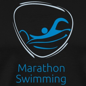 Marathon_swimming - Men's Premium T-Shirt