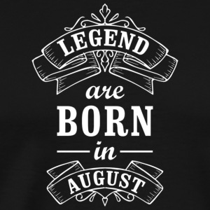 Legend Birthday August - Men's Premium T-Shirt
