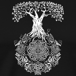 Yggdrasil Tree of Life - Men's Premium T-Shirt