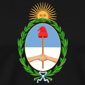 National Coat Of Arms Of Argentina - Men's Premium T-Shirt