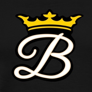 Brian Justine Pre Signature B w/ Crown Logo - Men's Premium T-Shirt