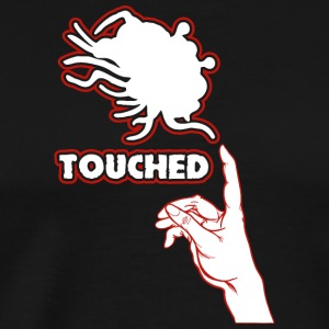 Touched by flying spaghetti monster - Men's Premium T-Shirt