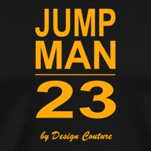 JUMP MAN 23 ORANGE - Men's Premium T-Shirt