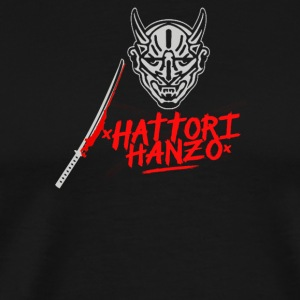 HATTORI HANZO KILL BILL SAMURAI SWORDS - Men's Premium T-Shirt