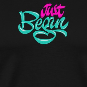 Just begin - Men's Premium T-Shirt