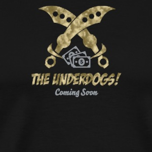 The underdogs coming soon - Men's Premium T-Shirt