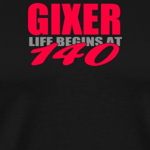 Gixer Motorbike Racing - Men's Premium T-Shirt