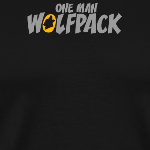 One Man Wolfpack - Men's Premium T-Shirt