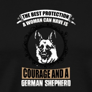 German Shepard - Men's Premium T-Shirt