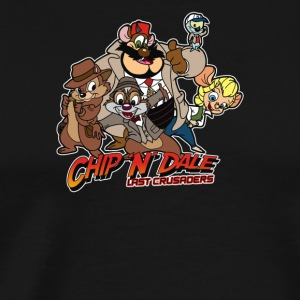Chip N Dale Last Crusaders - Men's Premium T-Shirt