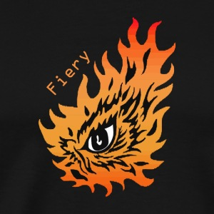 Fiery eye - Men's Premium T-Shirt
