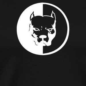 Pitbull Syndicate Logo Dogs - Men's Premium T-Shirt