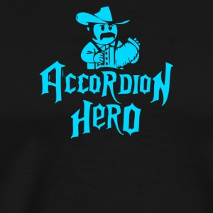 Accordion Hero - Men's Premium T-Shirt
