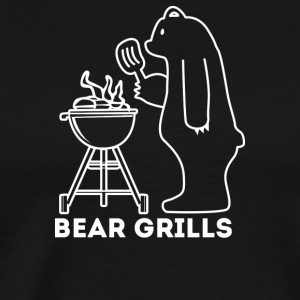 Bear Grills - Men's Premium T-Shirt