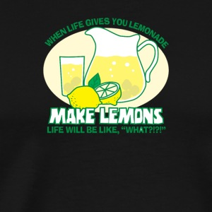 Make Lemons - Men's Premium T-Shirt