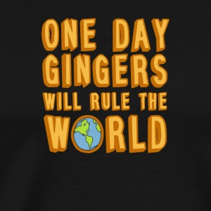 One day gingers will rule the world - Men's Premium T-Shirt