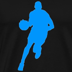 basketball player spieler sport81 - Men's Premium T-Shirt