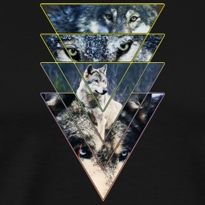Wild Wolves Gang Colours - Men's Premium T-Shirt