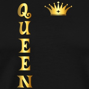 Queen Gold Gift Shirt - Men's Premium T-Shirt