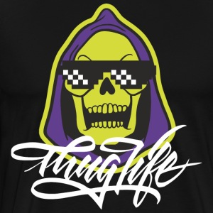 Skeletor Thug Life - Men's Premium T-Shirt